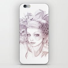 Felt Heart iPhone & iPod Skin