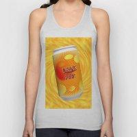 Drink Beer  Unisex Tank Top