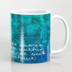 Aqua Buddha Mug