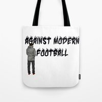 AGAINST MODERN FOOTBALL Tote Bag