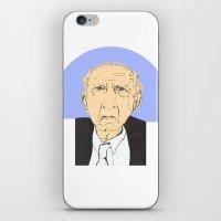 Coloured Old Man In A Ne… iPhone & iPod Skin