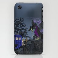 iPhone & iPod Case featuring And Now You Will Deal Wi… by Karen Hallion Illust…