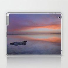 Purple reflections at the sea. Bolonia Laptop & iPad Skin