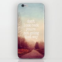 Dont Look Back iPhone & iPod Skin
