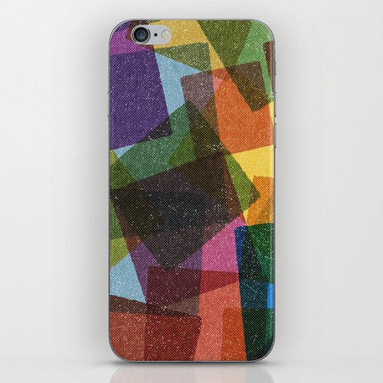 Square Miles. iPhone & iPod Skin