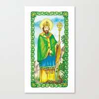 Saint Patrick Canvas Print