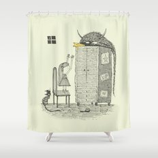 'There You Are!' Shower Curtain