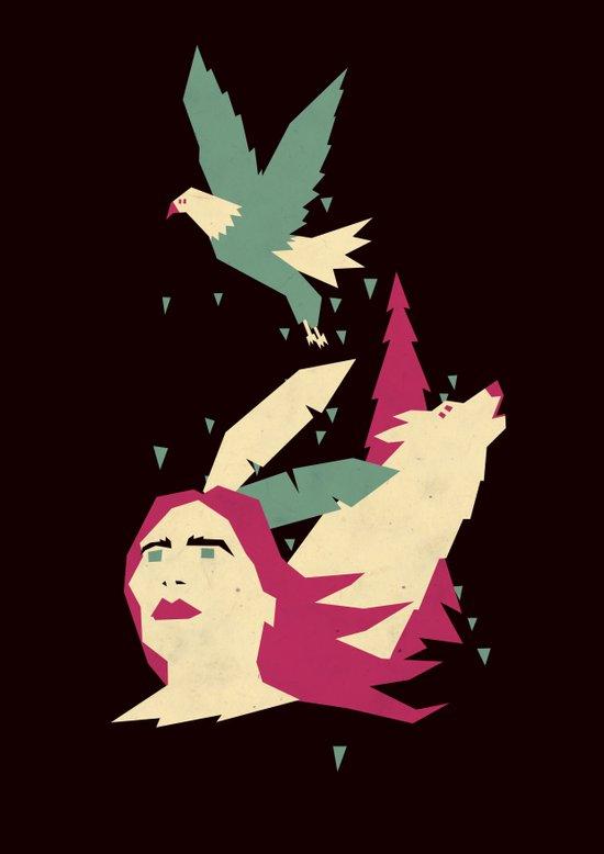 Americana delight II Art Print