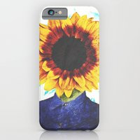iPhone & iPod Case featuring Sunflower by Troy Spino