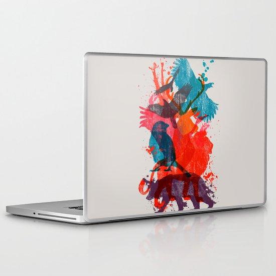 It's A Wild Thing Laptop & iPad Skin