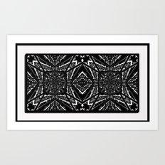 Tiki2 Art Print