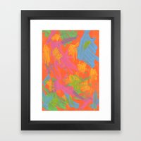 Abstract 161 Framed Art Print