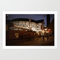 An Evening At The Globe Art Print