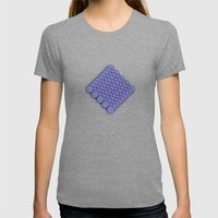 Circle B Womens Fitted Tee Tri-Grey SMALL