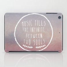 I. Music fills the infinite iPad Case