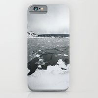 iPhone & iPod Case featuring Ice on Lake Superior by Jasmine Cupp