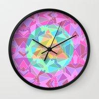 Psychedelic Unicorn Wall Clock