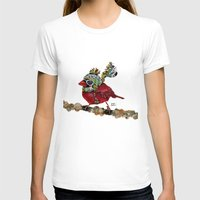 Cardinal Blaze 3 Womens Fitted Tee White SMALL