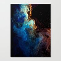 Creation - part 1 Canvas Print