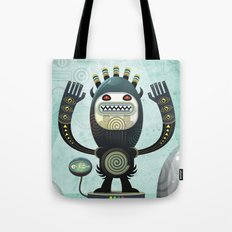 Alien Guard Tote Bag