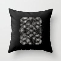 Drawing 7 Throw Pillow