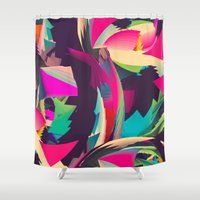 Free Abstract Shower Curtain