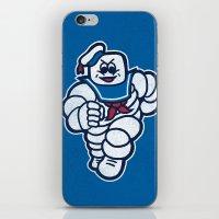 Marshmelin Man iPhone & iPod Skin