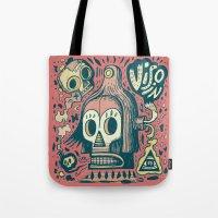 Vision étrange Tote Bag