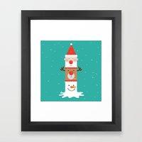 Day 11/25 Advent - Holid… Framed Art Print