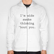 Wide Awake Print Hoody
