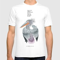 Pelican Island Mens Fitted Tee White SMALL