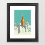 Highline NYC Framed Art Print