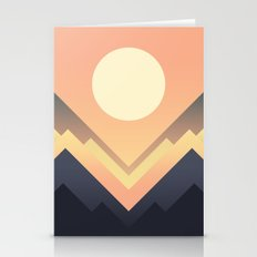 The Sun Rises Stationery Cards