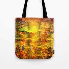 ABSTRACT - Abundance Tote Bag