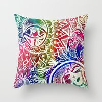 Serenity Redefined Throw Pillow