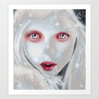 Winter Art Print