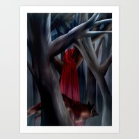 The Cloak of Rydynnton Art Print