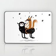 Space Fox Wanderer Laptop & iPad Skin
