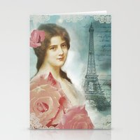 J'adore Paris II Stationery Cards