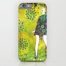 girl in green iPhone 6s Slim Case