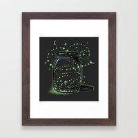 The Empty Jar Of Firefli… Framed Art Print