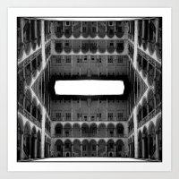 Escher Lives Here Art Print
