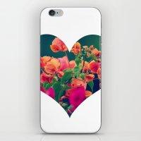 Corazón De Las Flores  iPhone & iPod Skin