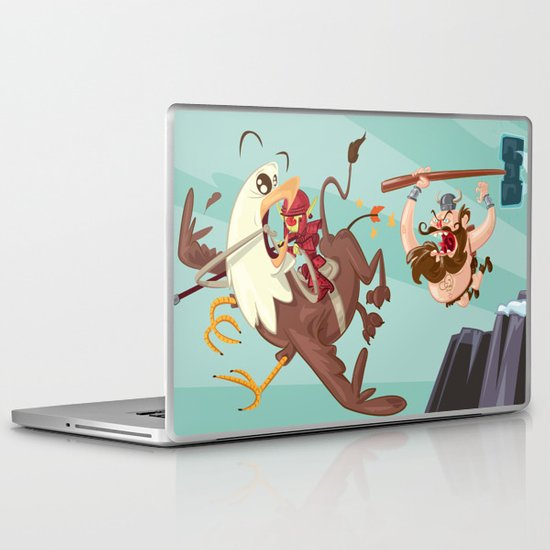 Braun Bloodstone and the Griffin Laptop & iPad Skin