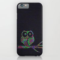 Owl On A Branch iPhone 6 Slim Case
