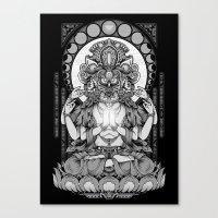 Sacred Ascetic Canvas Print