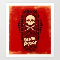 Death Proof - Movie Post… Art Print