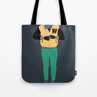 Letterman Tote Bag