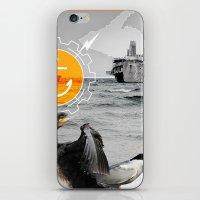 Manitou Shipwreck iPhone & iPod Skin