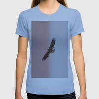 Golden Eagle Womens Fitted Tee Athletic Blue SMALL